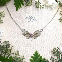 LUTINE - Mini collier ailes...