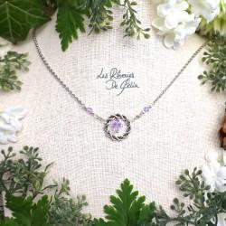 NAIA - Collier anneau...