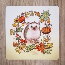 Carte Postale Hérisson...